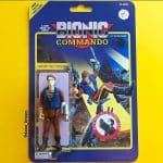 Bionic Commando Nathan Spencer Dano Brown Custom Action Figure Exhibition San Diego Los Angeles