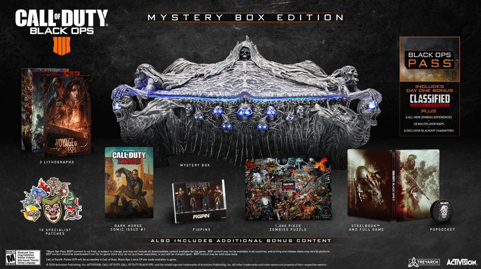 Call of Duty Black Ops 4 Blackout Mystery Box Collector's Edition
