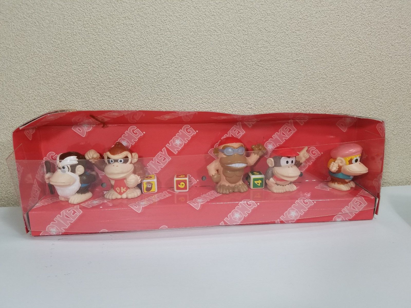 Donkey Kong Board Game with figures nintendo takara Japan 1999 4