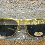 Dota 2 Golden Gold Sunglasses Video Game