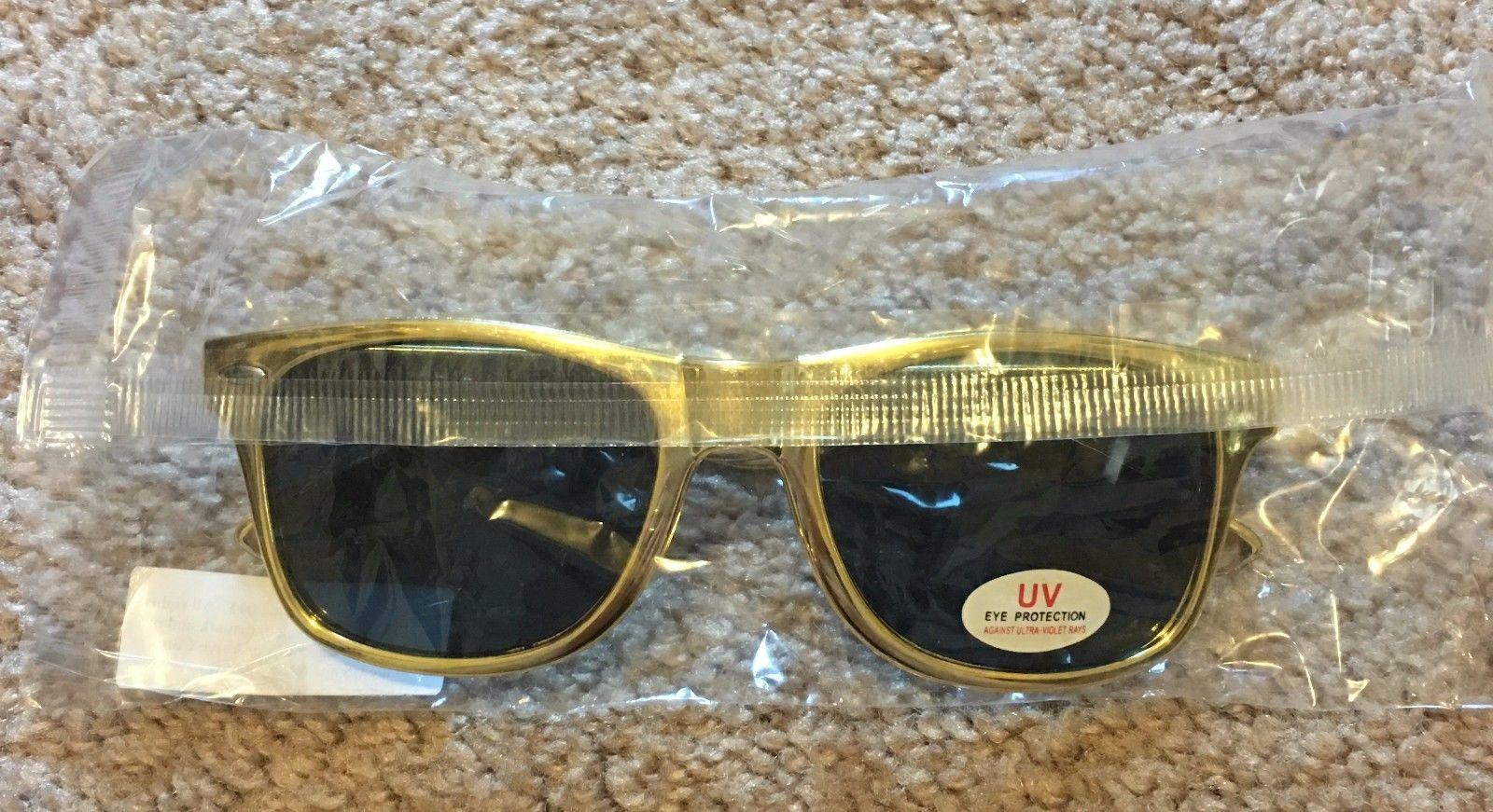 Dota 2 Golden Gold Sunglasses Video Game
