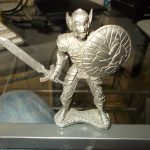 EVERQUEST 2006 JGRR Pewter Miniature Soldier PC Gaming