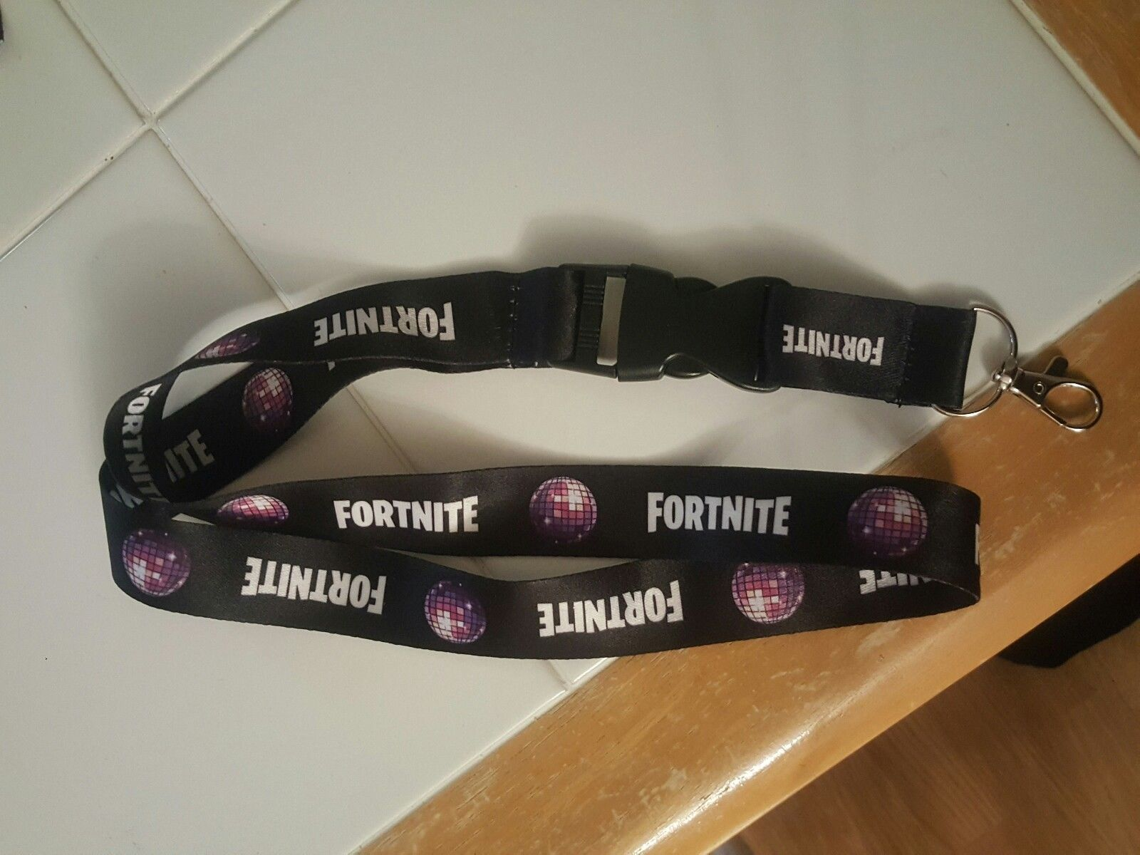 Fortnite Pro Am lanyard E3 exclusive