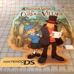 Nintendo Promo Character Set Store Display Professor Layton 6 Pc Set DS