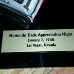 Nintendo Trade Appreciation Night Mike Tyson Punch Out Glove Signed 1988 2