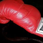 Nintendo Trade Appreciation Night Mike Tyson Punch Out Glove Signed 1988 6