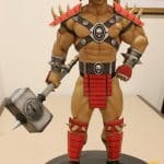 POP CULTURE SHOCK SHAO KAHN MORTAL KOMBAT KLASSIC STATUE IN STOCK sideshow