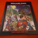 Square Enix Tokyo Game Show Catalog 2012 Dragon Quest Call of Duty Hitman Fantas