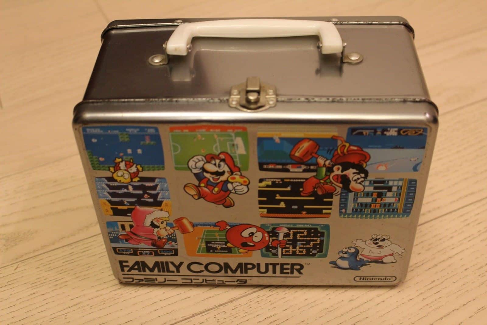 Super mario vintage case bag 1985 Nintendo Family Computer