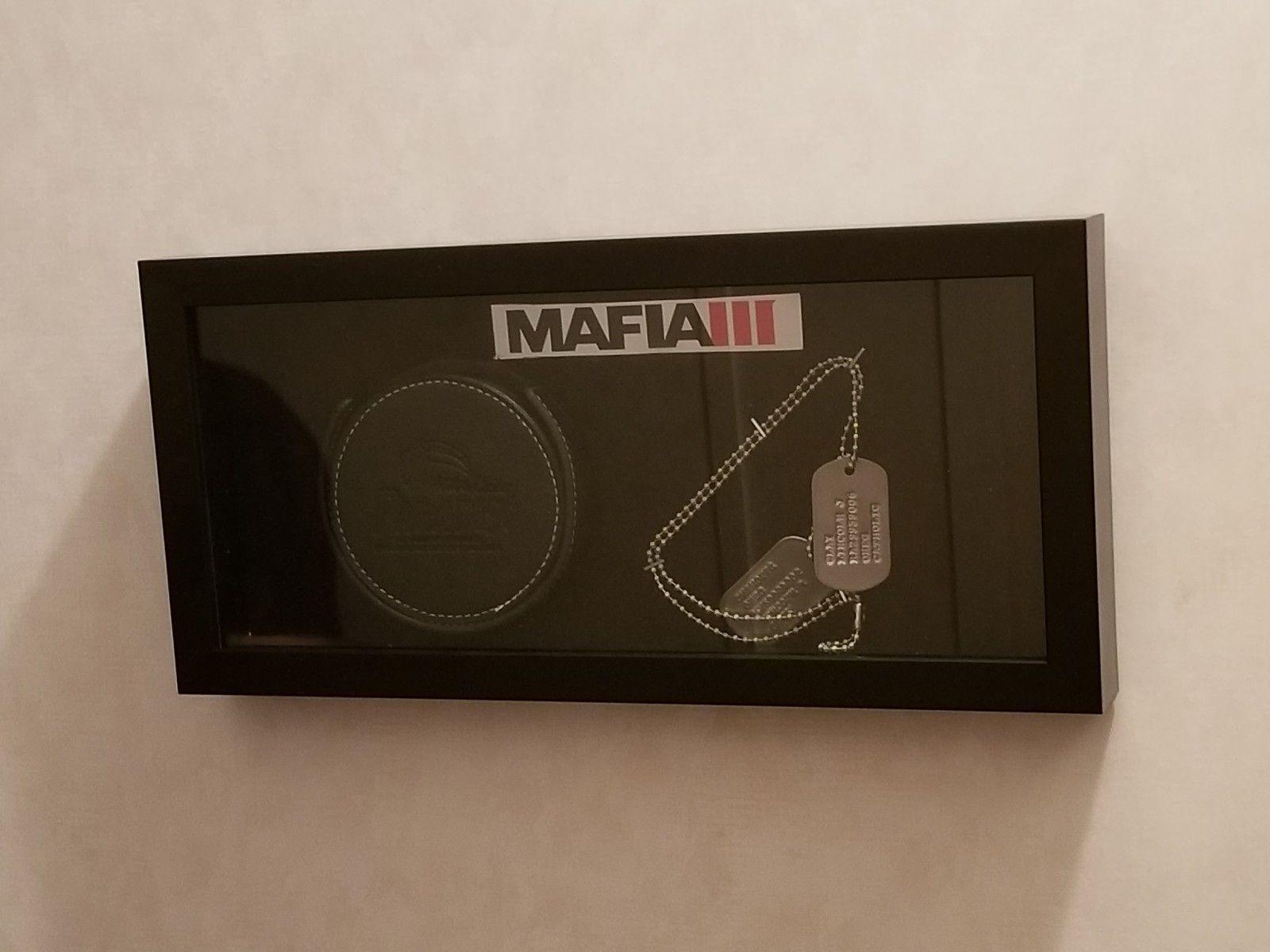 Video Game Memorabilia Mafia 3 Dog Tags and Coasters 2