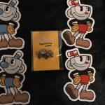 CupHead Xbox Pin Launch Party Exclusive