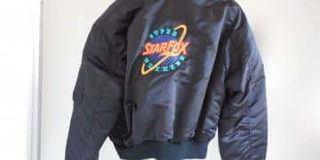 AUTHENTIC Super Starfox Weekend 1993 Prize Bomber Jacket