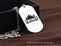 Fortnite Dog Tag Necklace Chains - Various Battle Royale Logo
