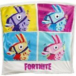 Fortnite Llama Blanket Loot Sherpa Fleece Officially Licensed Product Epic Games
