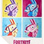 Fortnite Llama Blanket Sherpa Fleece Epic Games Gaming Ninja 3