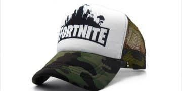 Fortnite Trucker Hat Cap Epic Games PC Gaming Camo Military Army
