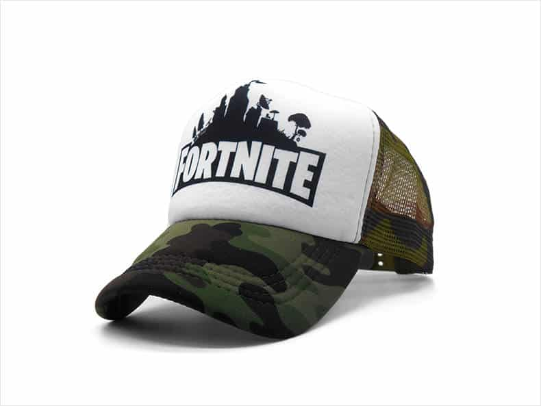 Fortnite Trucker Hat Camo Battle Royale