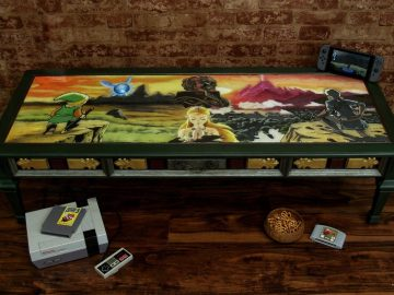 Legend of Zelda Table