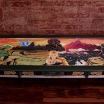 Legend of Zelda Table Custom Made Art Artist Hand-Painted Artwork Nintendo 2