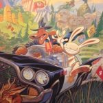 Sam & Max Hit the Road Lithograph Signed by Steve Purcell 2
