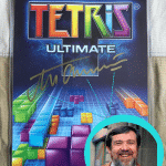 Tetris Ultimate Signed by Creator Alexey Pajitnov Autograph