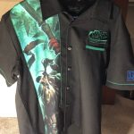 Esports World of Warcraft Mist of Pandaria Employee XL Bowling Shirt Esports