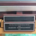 2012 Blizzard Employee 5 year Ceremony Sword 4