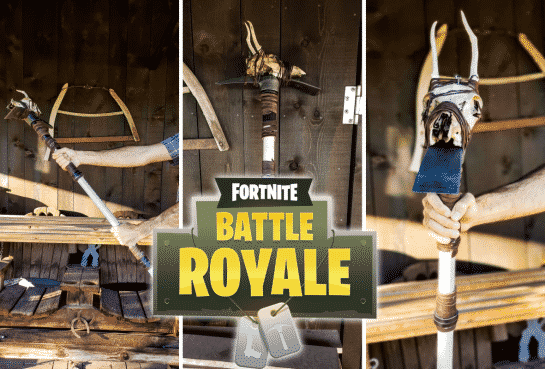Fortnite Death Valley Pickaxe Prop For Halloween