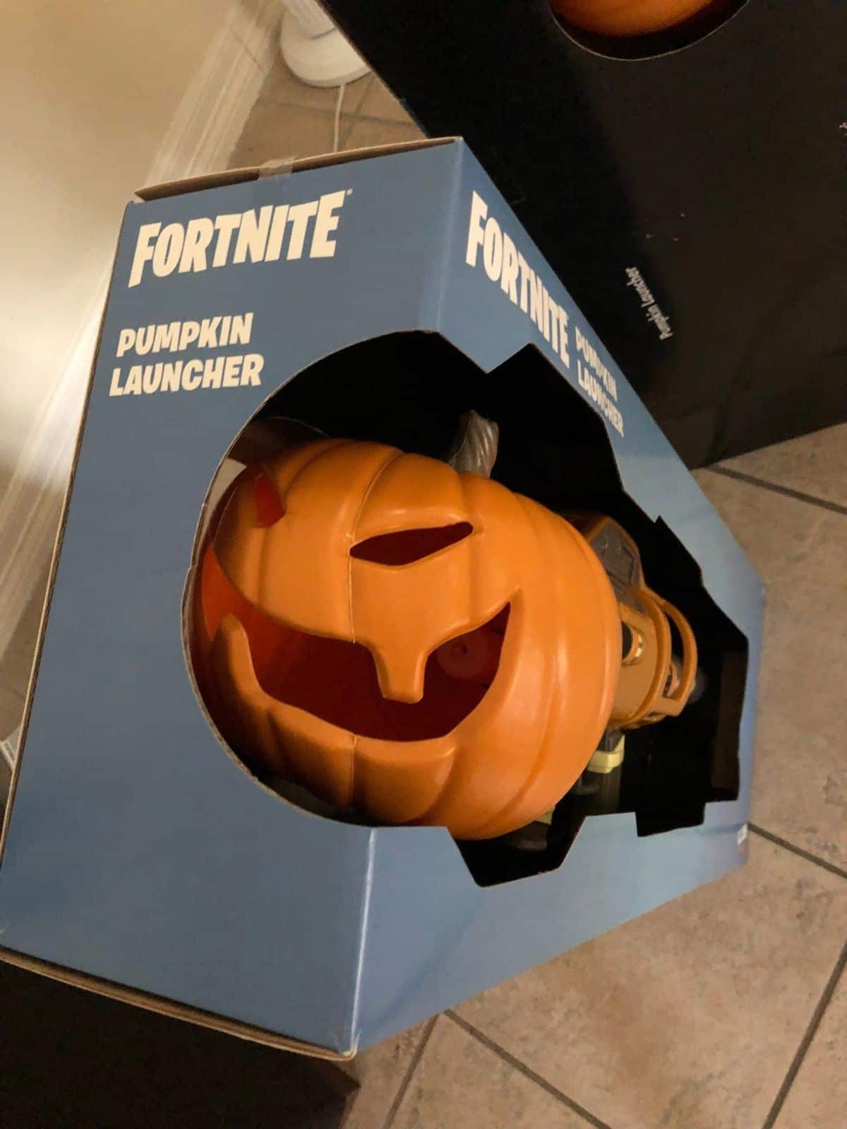 Fortnite LED Light Up Pumpkin Launcher licensed Halloween Costume Prop 2