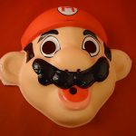 Super Mario Bros. Nintendo NES Era Halloween Costume Mask 1988