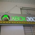 Xbox 360 Console Store Display Sign Working Condition Kiosk Demo Rare Toys R Us 4