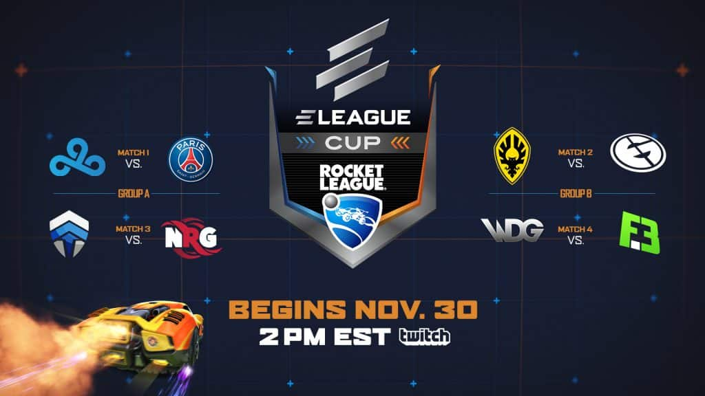 2018 ELEAGUE Cup Rocket League what you need to know