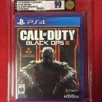 Call of Duty Black Ops III (PS4,2015) Brand New VGA 90 NM+MT Gold Level 7007