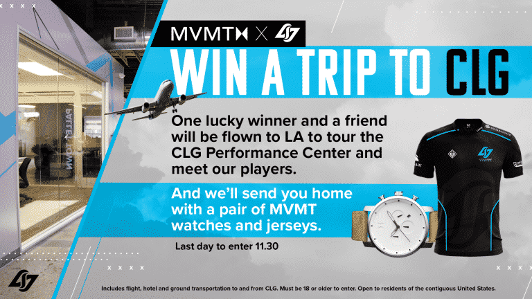 Counter Logic Gaming Sweepstakes Lets You Join CLG on Tour
