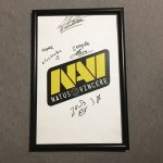Counter Strike Offensive CSGO Poster Signed By Natus Vincere Navi Esports MLG 5