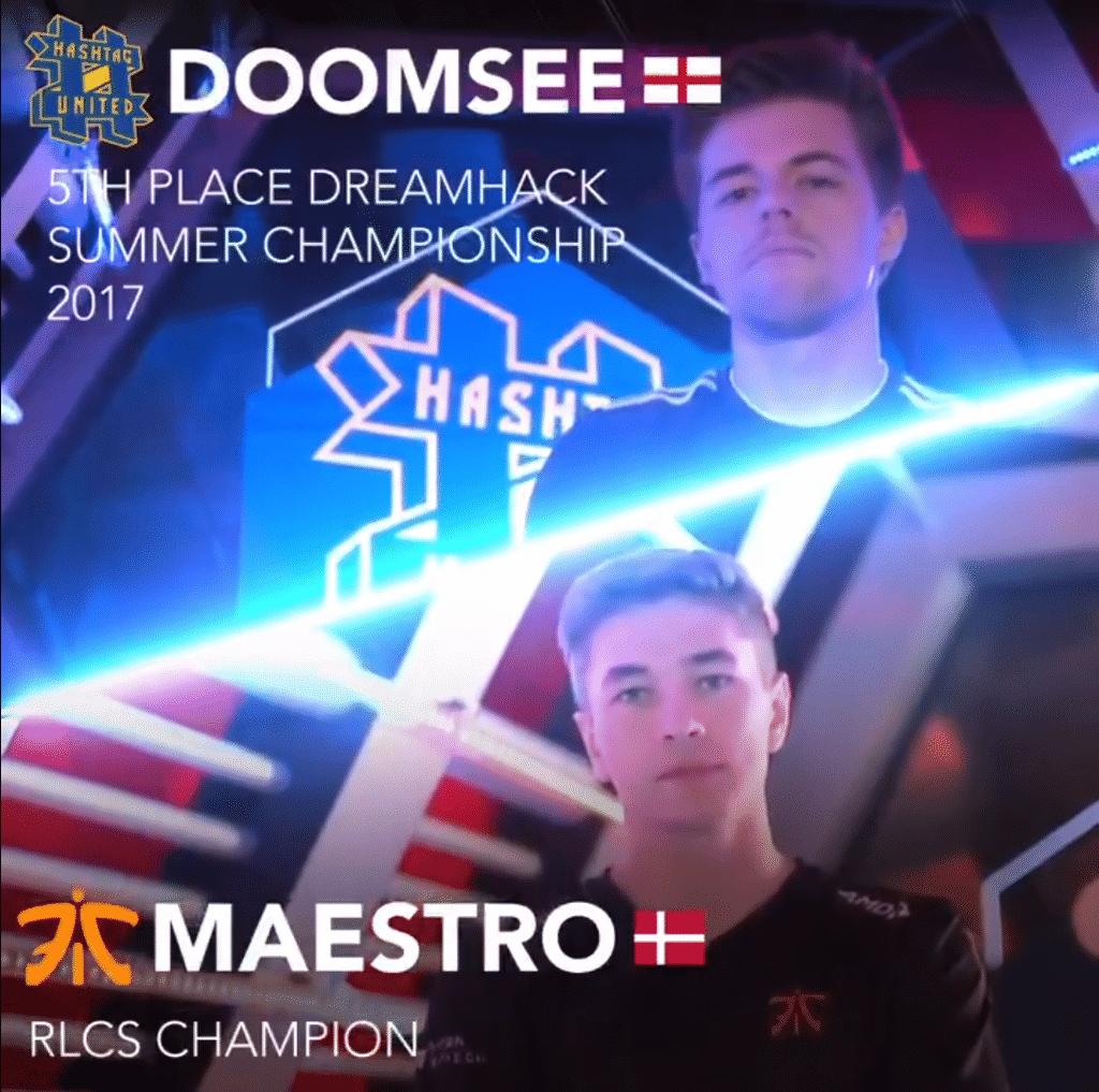 Gfinity Elite Series Rocket League Doomsee Maestro Match Up Esports