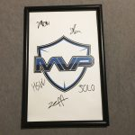 MVP Project Signed CSGO ESL Pro League Poster Korea Gaming MLG 2