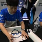 MVP Project Signed CSGO ESL Pro League Poster Korea Gaming MLG 5
