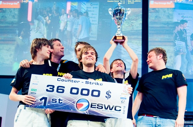 Navi ESWC Esports Winnings Tournament Play Pro League