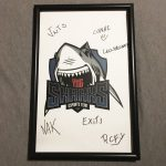 Signed Sharks Esports Poster from ESL Eletronics Sports League Pro Gaming MLG