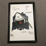 Signed Sharks Esports Poster from ESL Eletronics Sports League Pro Gaming MLG 2
