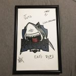 Signed Sharks Esports Poster from ESL Eletronics Sports League Pro Gaming MLG 3