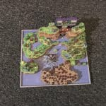 Super Mario World 3D Map Full color sandstone Printed Artwork Nintendo Real Life Statue 2