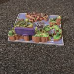 Super Mario World 3D Map Full color sandstone Printed Artwork Nintendo Real Life Statue 5