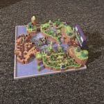 Super Mario World 3D Map Full color sandstone Printed Artwork Nintendo Real Life Statue 6