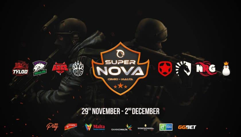Super Nova counter strike Malta Esports Pro League Tournament Professional bay.com.mt