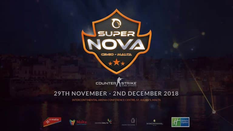 SuperNova csgo Malta Esports Pro League Tournament Professional fraglider.pt