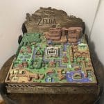 The Legend of Zelda A Link to the Past Hyrule 3D MAP LTTP 2