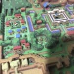 The Legend of Zelda A Link to the Past Hyrule 3D MAP LTTP 3