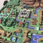 The Legend of Zelda A Link to the Past Hyrule 3D MAP LTTP 6